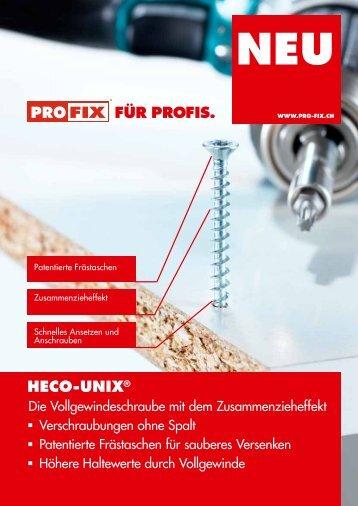 hEco-UNix® für profis.