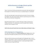 All the Reasons to Dodge School and the Workplace! - Page 2