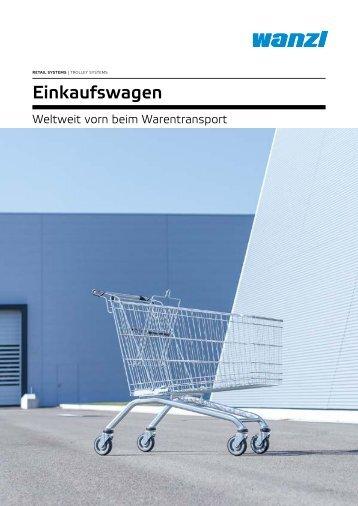 Einkaufswagen - Weltweit vorn beim Warentransport