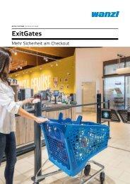 ExitGates - Mehr Sicherheit am Checkout