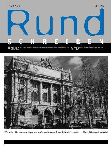 Kommissionen - Verein Deutscher Bibliothekare