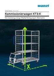 Kommissionierwagen KT3-X