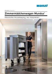 Zimmermädchenwagen Mundus