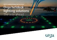 The way ahead in helideck lighting solutions