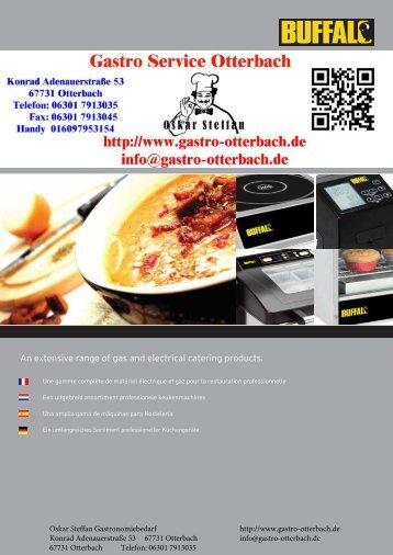 Gastro Service Otterbach BUFFALO SILVER BRAND