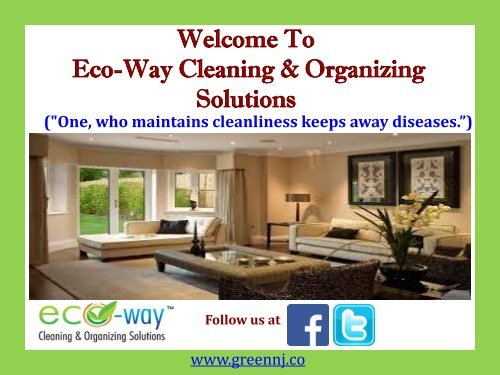 Housekeeping Services in Montclair||Eco-Way Cleaning & Organizing Solutions
