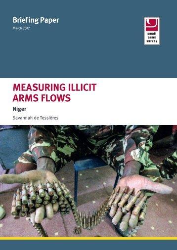 MEASURING ILLICIT ARMS FLOWS