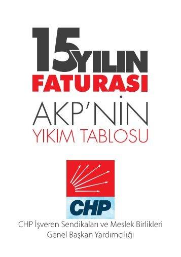CHP İşveren Sendikaları ve Meslek Birlikleri Genel Başkan Yardımcılığı