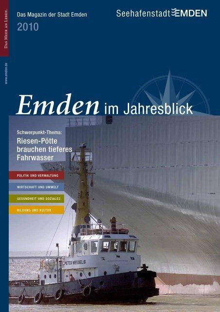 Das Magazin der Stadt Emden - Jahresbericht 2010