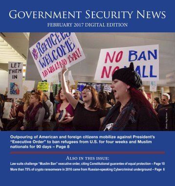 Government Security News February 2017 Digital Edition
