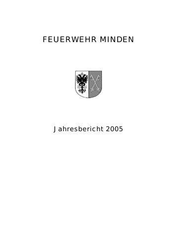 jb2005.pdf (173 KB) - Feuerwehr Minden - Stadt Minden
