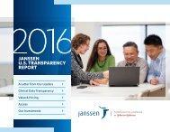 JANSSEN U.S TRANSPARENCY REPORT