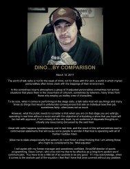 DINO…BY COMPARISON