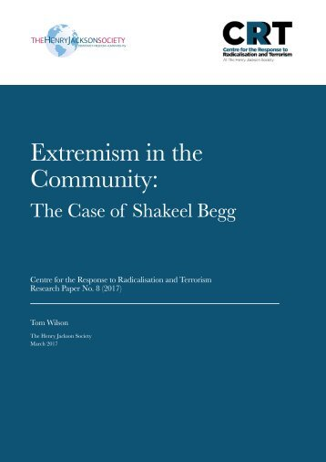 Extremism in the Community