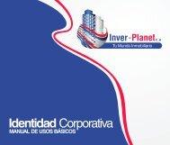 InverPlanet Identidad Corporativa Manual de Usos.