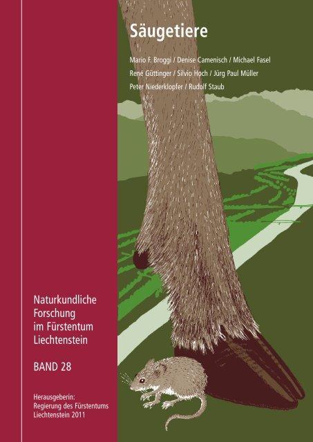 Die Säugetiere des Fürstentums Liechtenstein (Mammalia)