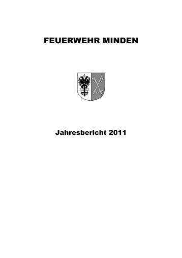 Jahresbericht 2011 Feuerwehr Minden - Feuerwehr Minden - Stadt ...