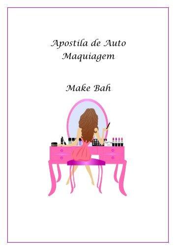 Apostila Auto Maquiagem Make Bah (2)