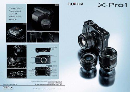 Fuji X-Pro1 Catalogue