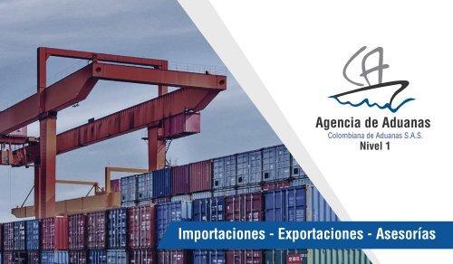 Portafolio Colombiana de aduanas