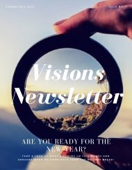 Visions Newsletter No. 1