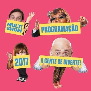 PROGRAMAÇÃO MULTISHOW 2017