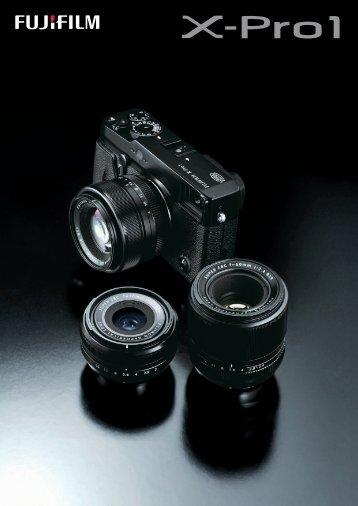 Fujifilm X-Pro1 Catalogue