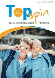 TopSpin TVM Tischtennis Magazin 24