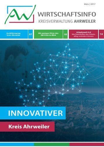 AW Wirtschaftsinfo März 2017 - Innovativer Kreis Ahrweiler