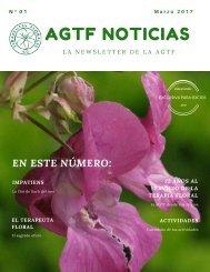 AGTF NOTICIAS Nº 01 - Marzo 2017