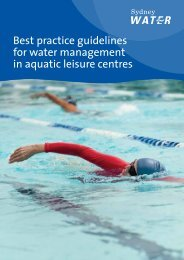 Sydney Water - Best practice guidelines for water management in ...
