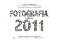 Catálogo Formandos Fotografia Unicap 2011