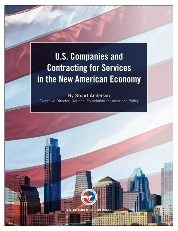 U.S Companies and Contracting for Services in the New American Economy
