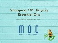 Buy Essential Oils Guide | How to Spot the Best Essential Oils