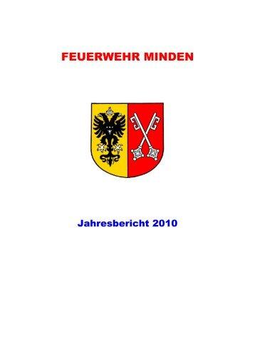Jahresbericht 2010 Endfassung - Feuerwehr Minden - Stadt Minden