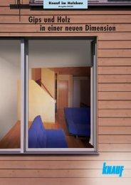 Dachgeschoss-Bekleidung - bei Knauf