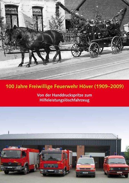 100 Jahre Freiwillige Feuerwehr Höver (1909–2009) - Holcim