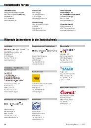 Führende Unternehmen in der Zentralschweiz ... - Gerber Media
