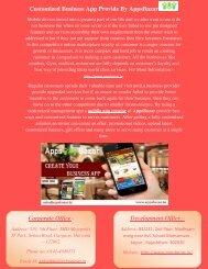 Customized Business App Provide By AppsBazar
