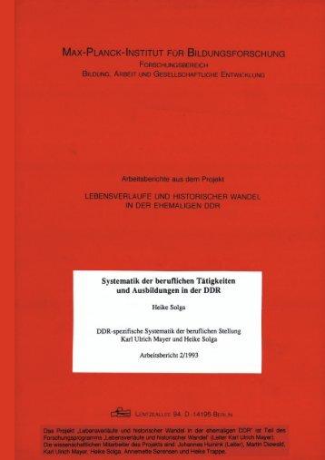 PDF-format - Max-Planck-Institut für Bildungsforschung