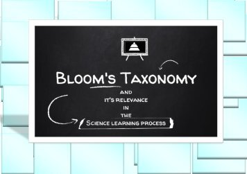 bloom taxonomy ebook