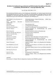Richtlinie für die Bewertung und Sanierung PCB-belasteter ...