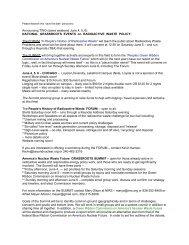 Download event description - Nuclear Energy Information Service