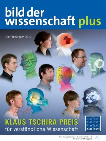 KLAUS TSCHIRA PREIS - Max Planck Institute of Biochemistry