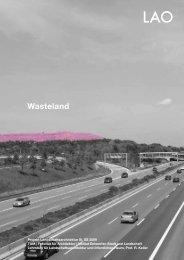 Wasteland - Lehrstuhl für Landschaftsarchitektur und öffentlichen ...