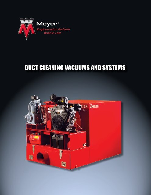 Air Duct Cleaning Equipment Catalog - Air Duct Vacuums