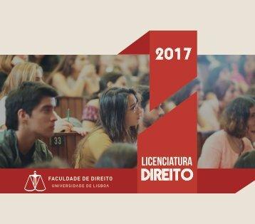 Brochura FDUL Licenciatura