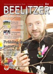 Beelitzer Nachrichten - März 2017