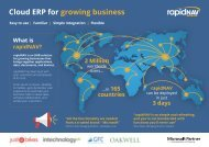 Cloud ERP for growing business