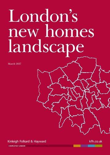 new homes landscape